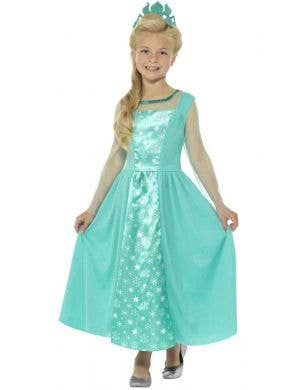Ice Princess Girls Elsa Book Week Costume