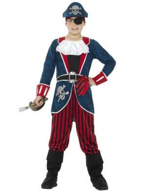 Swashbuckling Pirate Captain Boys Book Week Costume