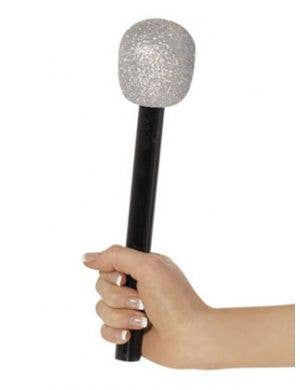 Glitter Microphone Costume Accessory