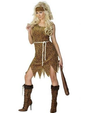Crazy Cavewoman Adult's Budget Costume