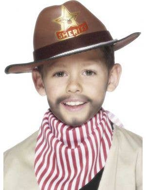 Wild West Cowboy Kids Costume Hat