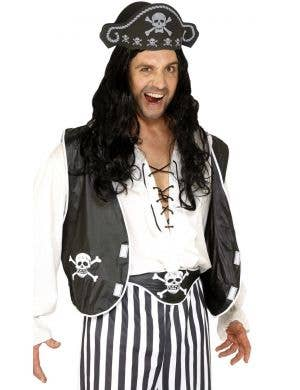 Skull and Cross-Bone Pirate Costume Accessory Kit