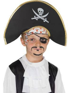 Foam Kids Pirate Captain Hat