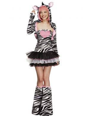 Wild Zebra Sexy Women's Costume