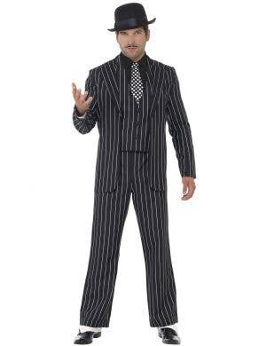 Vintage Gangster Boss Men's Great Gatsby 1920's Costume Image 1