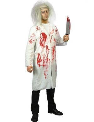 Blood Stained Doctors Coat Cheap Halloween Costume