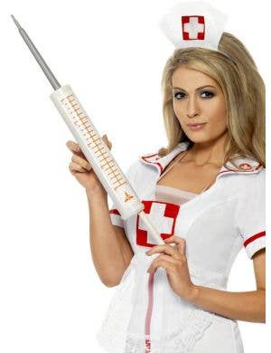 Giant Syringe Novelty Costume Accessory