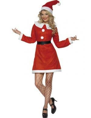 Miss Santa Budget Women's Christmas Costume