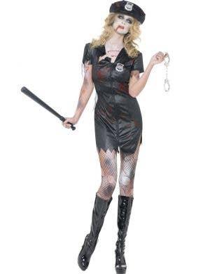 Zombie Cop Sexy Women's Halloween Costume