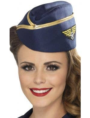 Air Force Women's Flight Attendant Costume Hat