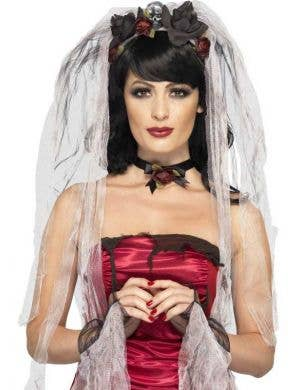 Gothic Bride Women's Halloween Costume Kit