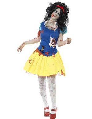 Snow Fright Zombie Women's Halloween Costume