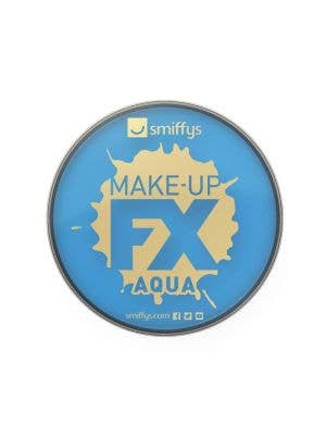 Aqua Based Blue Powder Compact Cake Makeup