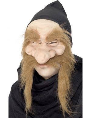 Gold Digger Adult's Half Face Latex Mask