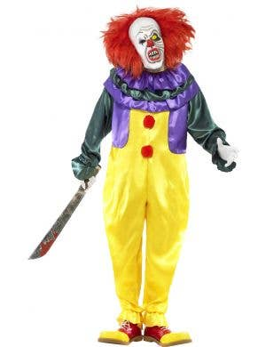 Pennywise IT Classic Horror Clown Movie Character Costume Front
