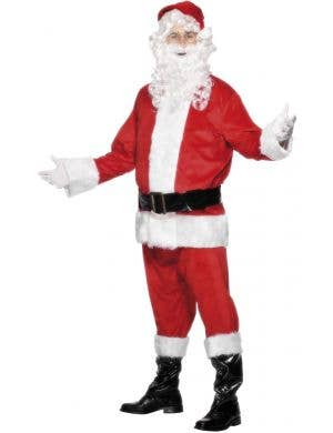 Men's Santa Christmas Dress Up Costume