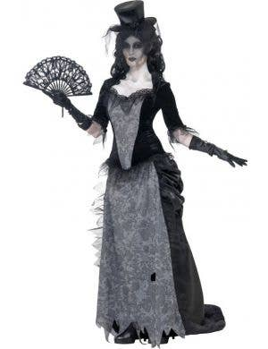 Black Widow Ghost Women's Halloween Costume