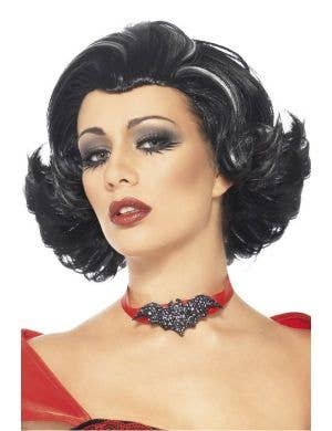 Bijou Boudoir Vampiress Black Costume Wig