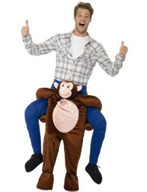 Ride On Monkey Novelty Piggyback Dress Up Costume Front