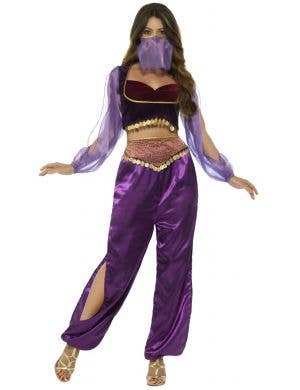 Arabian Princess Sexy Women's Purple Costume