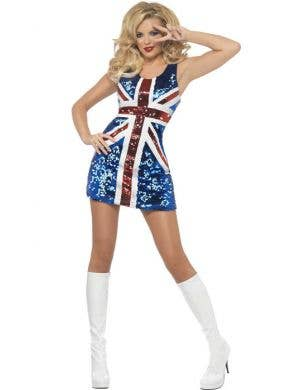 Rule Britannia Sexy Women's Costume