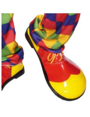 Oversized Red & Yellow Clown Shoes
