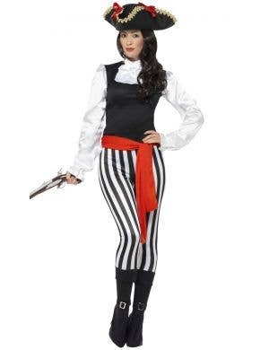 Pirate Lady Seafarer Women's Fancy Dress Costume