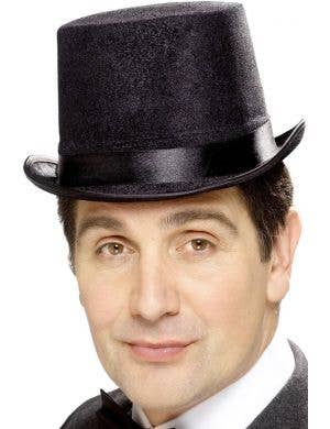 Indestructible Gentleman's Black Adults Topper Hat Costume Accessory