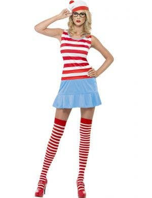 Where's Wally Sexy Women's Costume