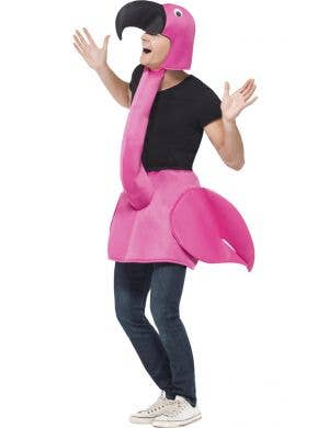 Men's Pink Flamingo Novelty Fancy Dress Costume Front