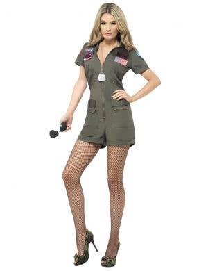 Top Gun Cutie Sexy Women's Costume