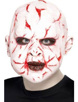 Scar Face Adult's Latex Halloween Mask