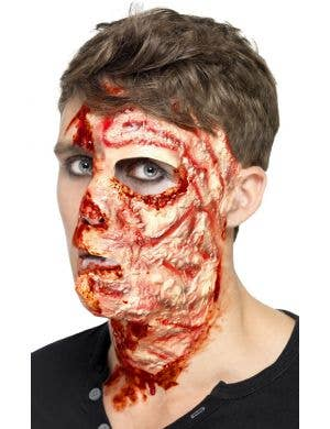 Burnt Face Halloween Special Effects