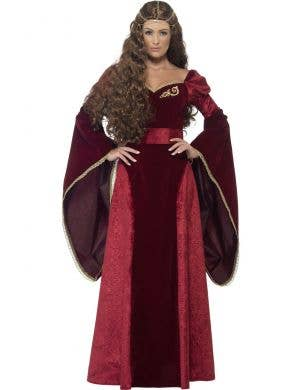Medieval Queen Deluxe Women's Costume