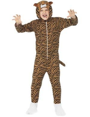 Terrorsome Tiger Kids Book Week Onesie Costume