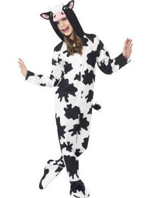 Cow Onesie Unisex Kids Costume