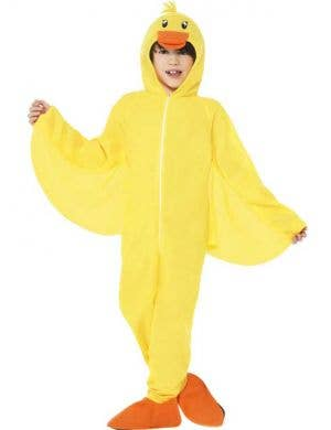 Duck Onesie Kids Costume