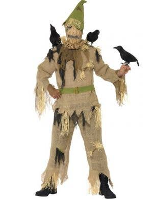 Scared Crow Men's Halloween Costume