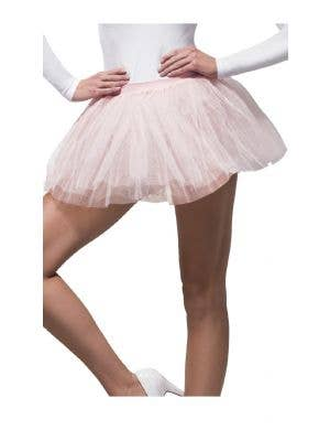 1980's Women's Pink Layered Costume Tutu