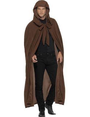 Halloween Costume Cloak in Brown ...  sc 1 st  Heaven Costumes & Monk - Halloween Costumes | Halloween Fancy Dress for Adults u0026 Kids