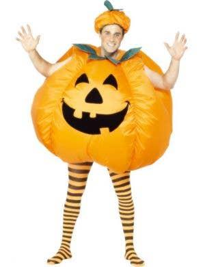 Inflatable Pumpkin Adult's Halloween Costume