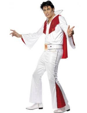 Men's Elvis Rock Star Men's Fancy Dress Costume Front