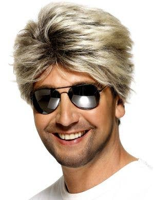 1980's Men's Wham Costume Wig