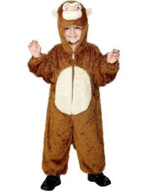 Monkey Onesie Kids Costume
