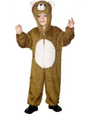 Bear Onesie Kids Costume