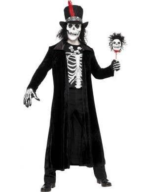 Voodoo Man Skeleton Halloween Costume