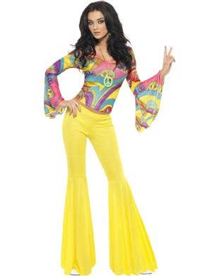 70's Disco Fever Women's Groovy Babe Costume