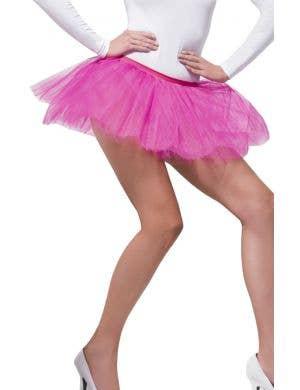Fuchsia Pink Women's Sexy Tutu Petticoat