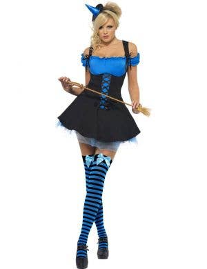 Wicked Witch Women's Sexy Blue Costume