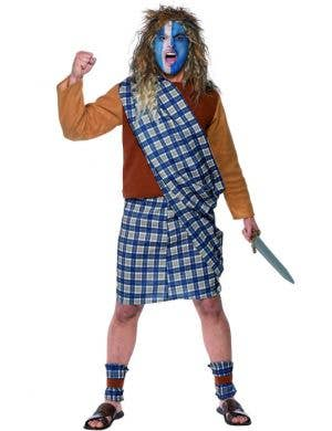 Brave Scotsman Men's Fancy Dress Costume